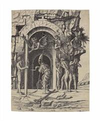 the descent into limbo by andrea mantegna