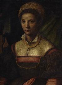 brustporträt einer adeligen by agnolo bronzino