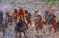 balapan kuda (horse racing) 赛马 by awiki