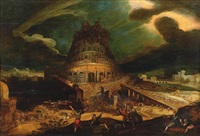 la tour de babel by kerstiaen de keuninck