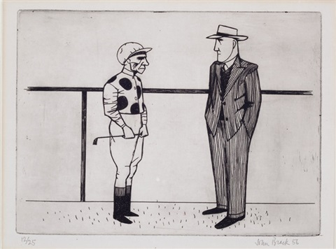 jockey and trainer by john brack