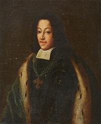 portrait of clemens august von wittelsbach (?) by german school (18)