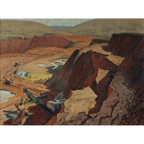 open pit mining by george franklin arbuckle
