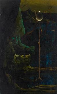 composition surréaliste by eugene samain