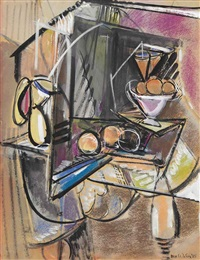 yellow pitcher by max weber