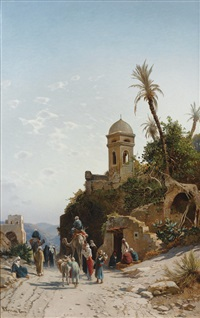on the road to jerusalem by hermann david salomon corrodi