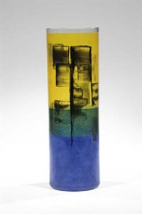 zylindrische vase by bohumil cabla