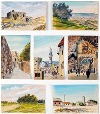 israel (set of 7) by franz reichental