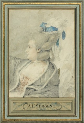 portrait de femme by antoine louis françois sergent marceau