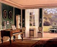 scène d'intérieur by frederik wilhelm svendsen