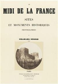 arles, remparts romains (porte d'auguste) by charles nègre