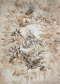 vierge en gloire by corrado giaquinto