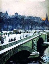 paryski most by odo (otton) dobrowolski