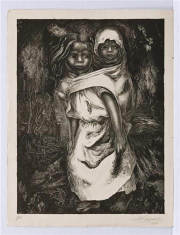 niña madre by david alfaro siqueiros