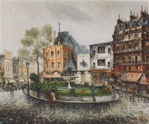 place pigalle by frank will