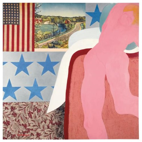 great american nude no 5 by tom wesselmann