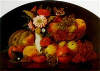 flowers and fruit of september by william moore davis
