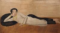 femme étendue by anna semenov