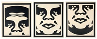 tryptique by shepard fairey