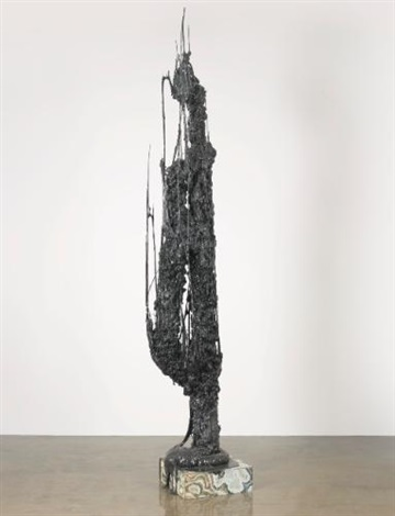 monument stalagmiteblack by sterling ruby