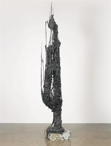 monument stalagmiteblack by sterling ruby