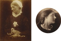 selected images (5 works) by julia margaret cameron