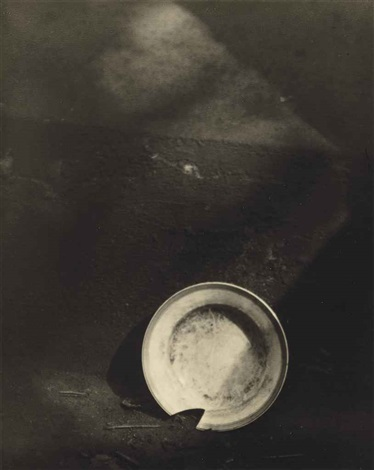 broken dish by josef sudek