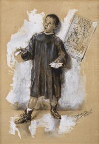 a boy selling tickets by vojtech bartonek