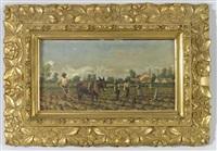 tilling the cotton fields by william aiken walker