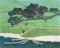 longsheng village by ma changli