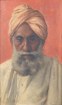 mussulman (+indian, pair) by rudolf svoboda