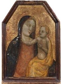 la vierge et l'enfant by bernardo daddi