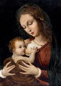 la vierge à l'enfant by joos van cleve