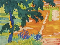 summer heat by charles ephraim burchfield
