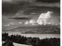 the golden gate headlands, san francisco by ansel adams