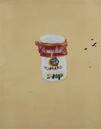 campbell tomato soup by martial raysse