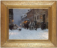 vinterkväll på drottninggatan by wilhelm smith
