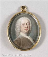 portrait of a nobleman by bernard (goupy) lens iii