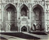 peterborough cathedral by roger fenton