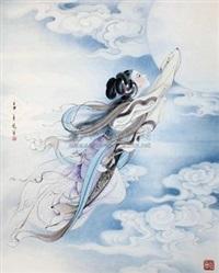 奔月 by liu yuesheng
