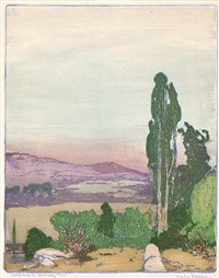 california 3. ojai valley by frank morley fletcher