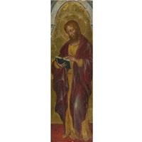 saint matthew by francesco di gentile da fabriano