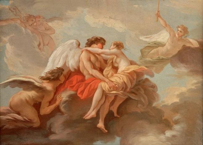le temps embrassant lamour by jean baptiste marie pierre