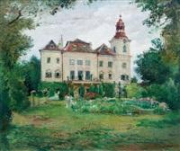 odpoledne na zámku dětenice by oldrich blazicek