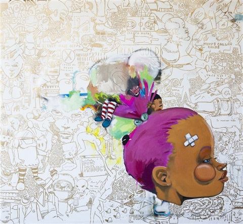 a song by sade by hebru brantley