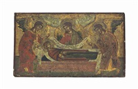 the dormition of the mother of god by emmanuel tzanès