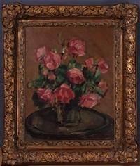 rosenstrauß in vase by leon abramowicz
