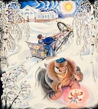 сказка by yuliy yulevich (julius) klever
