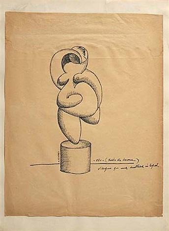 nudo di donna study by adone asinari