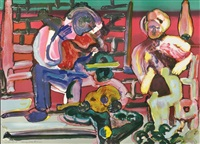 louisiana serenade from the jazz series by romare bearden